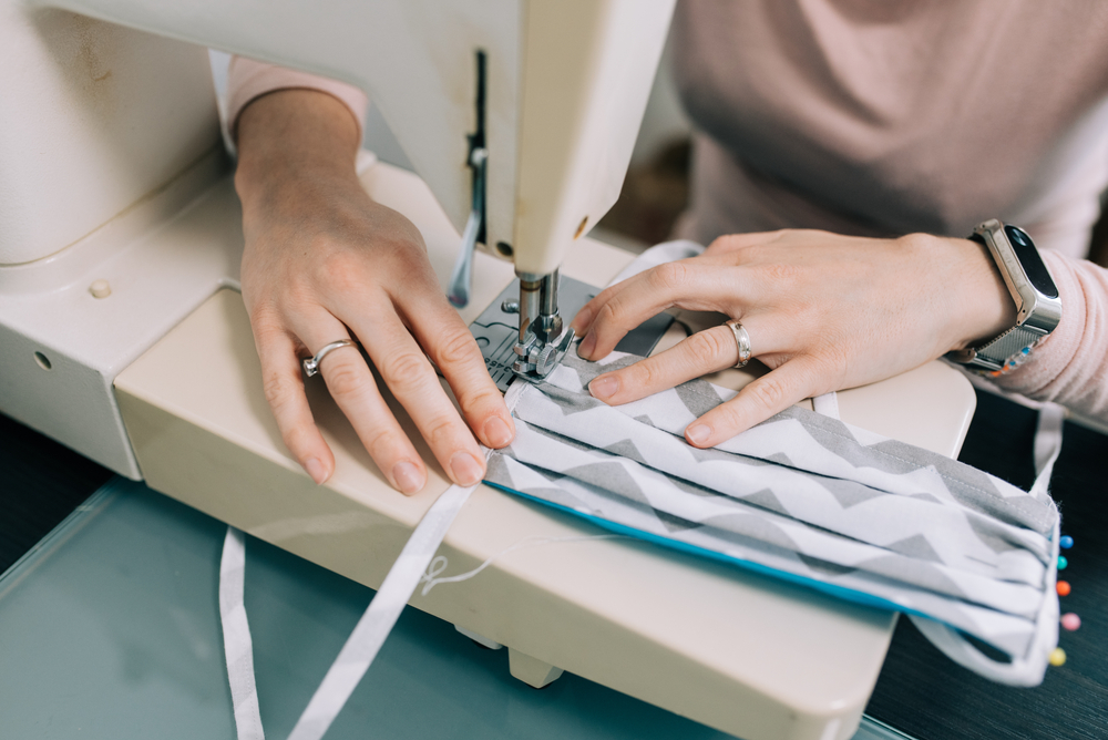 industriele naaimachine gebruikt